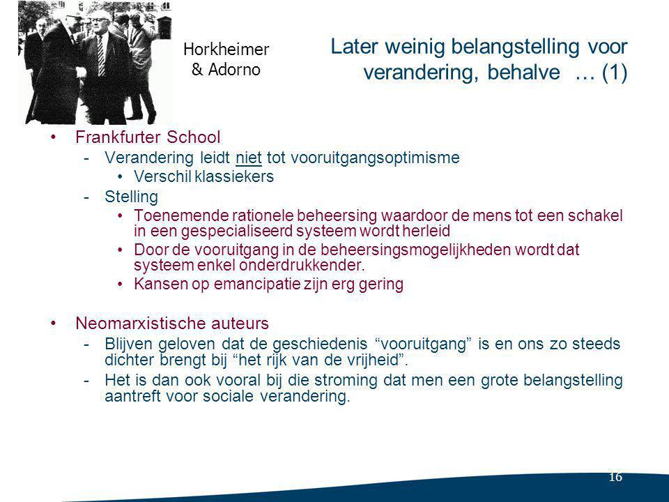 Meer over de Frankfurter School