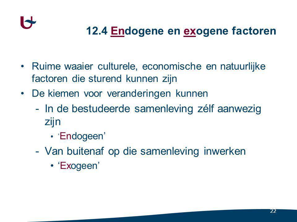 12.4.1 Endogene factoren Uitvindingen en ontdekkingen