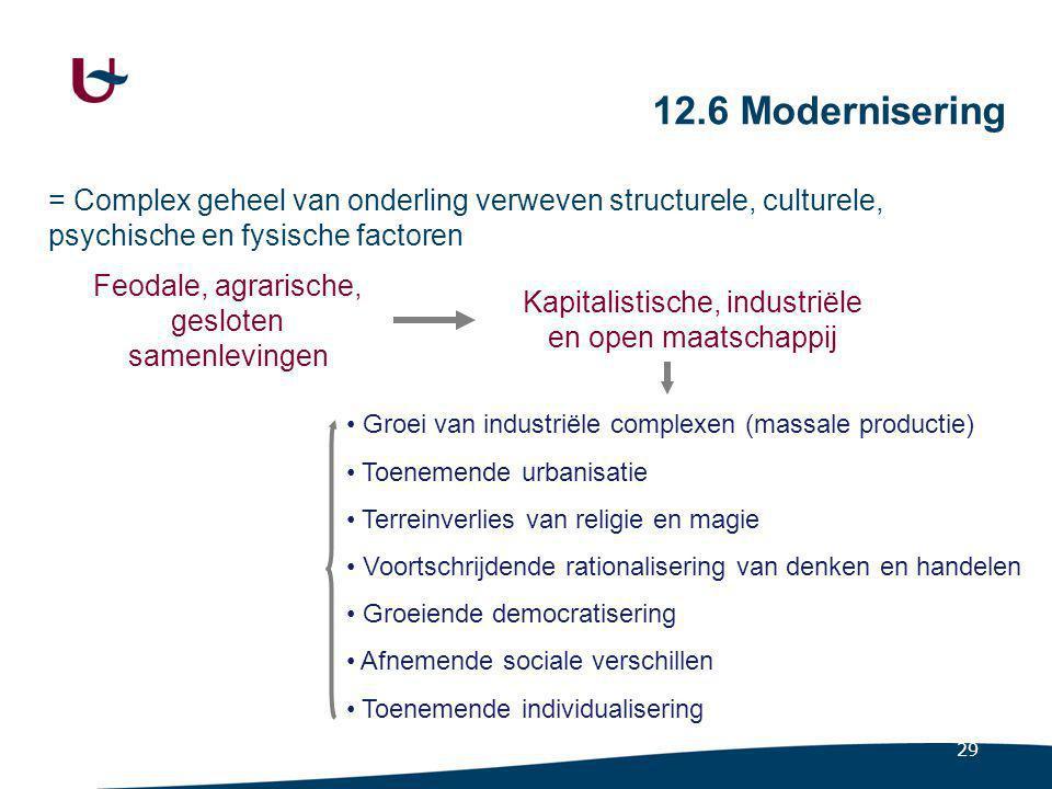 Modernisering in Parsons' schema Conceptueel kader