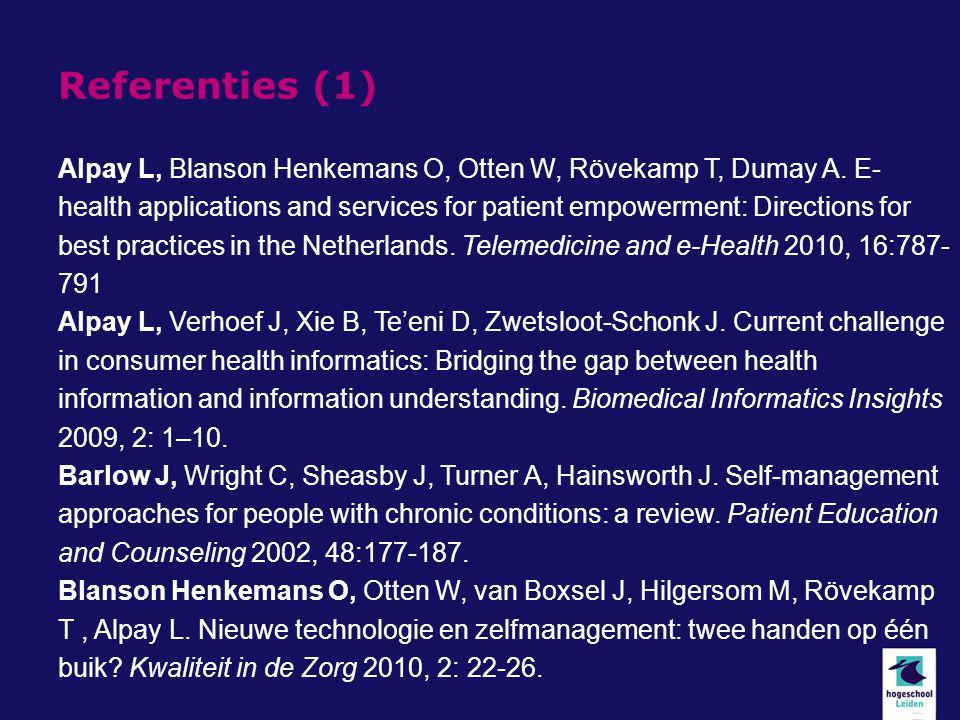 Referenties (1)