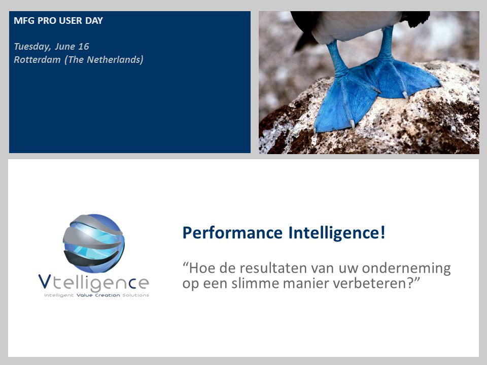 Performance Intelligence!
