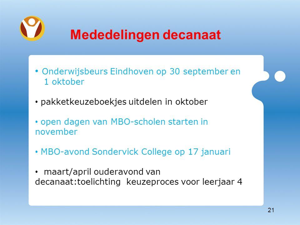 Belangrijke data Onderwijsbeurs (28&29 sept.2012)