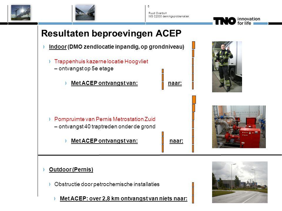 ACEP en nieuwere portofoons t.o.v. MPT 700 (1 W)