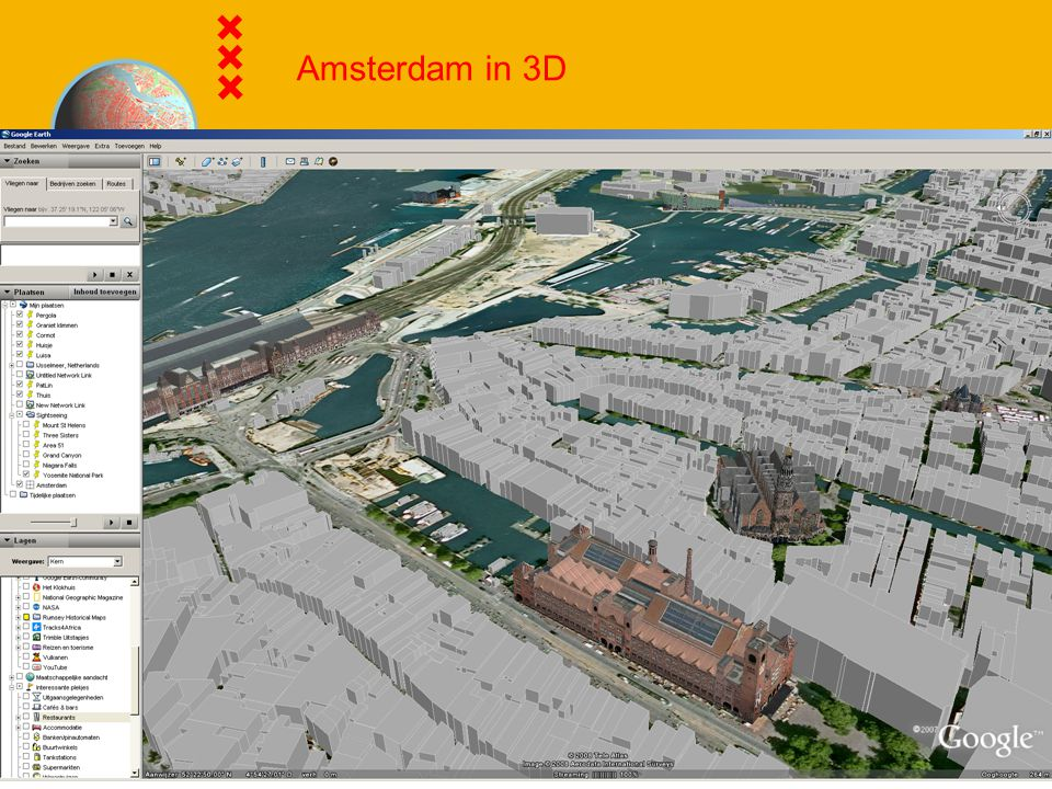 Amsterdam in 3D