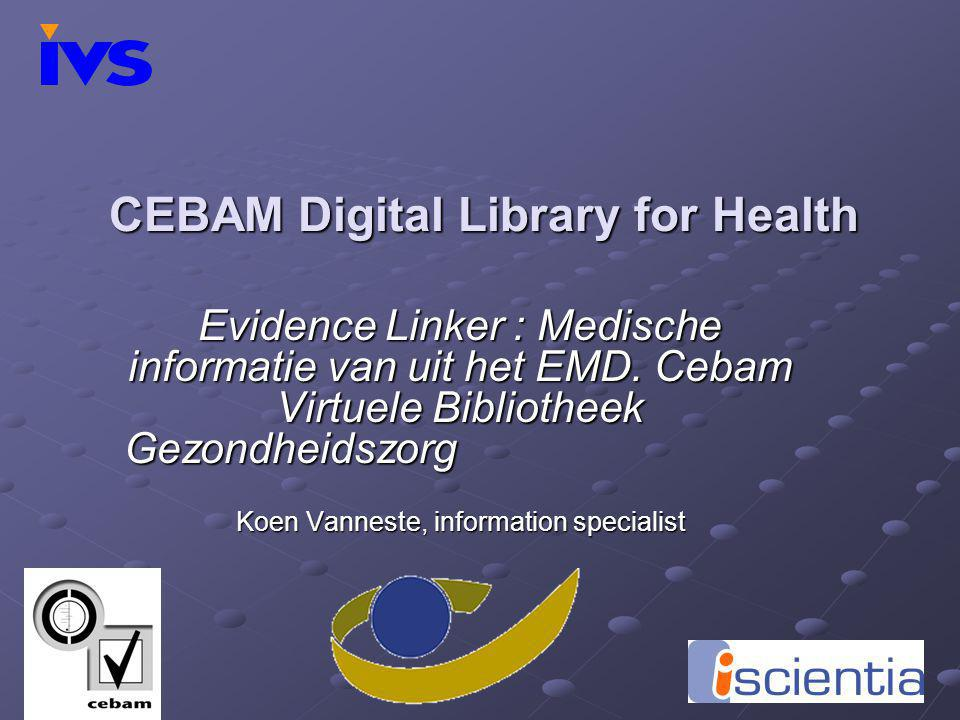 CEBAM Digital Library for Health