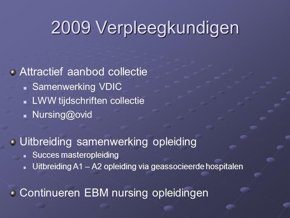 2009 Verpleegkundigen Attractief aanbod collectie