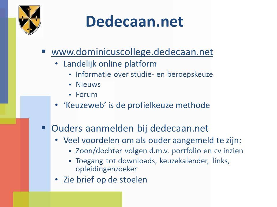 Dedecaan.net www.dominicuscollege.dedecaan.net