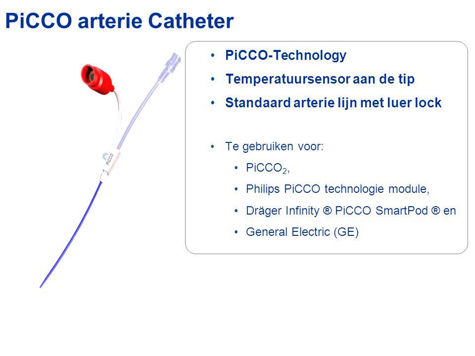 PiCCO arterie Catheter