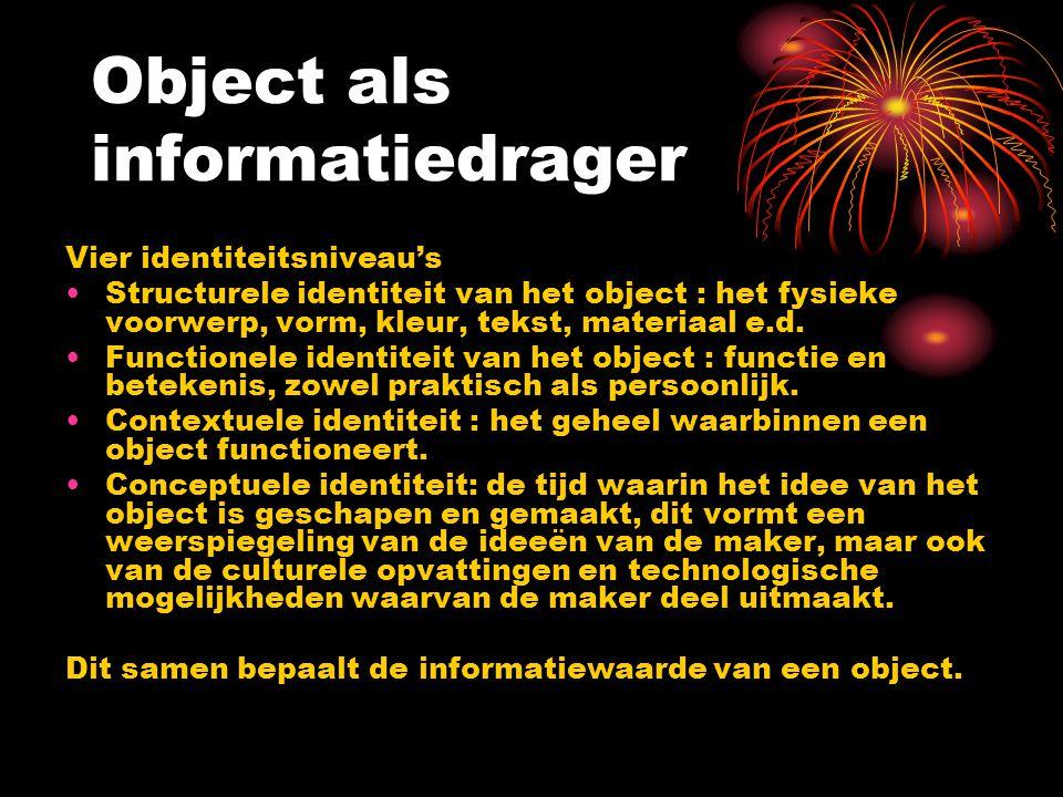 Object als informatiedrager