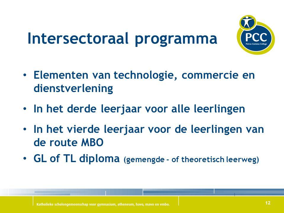Intersectoraal programma