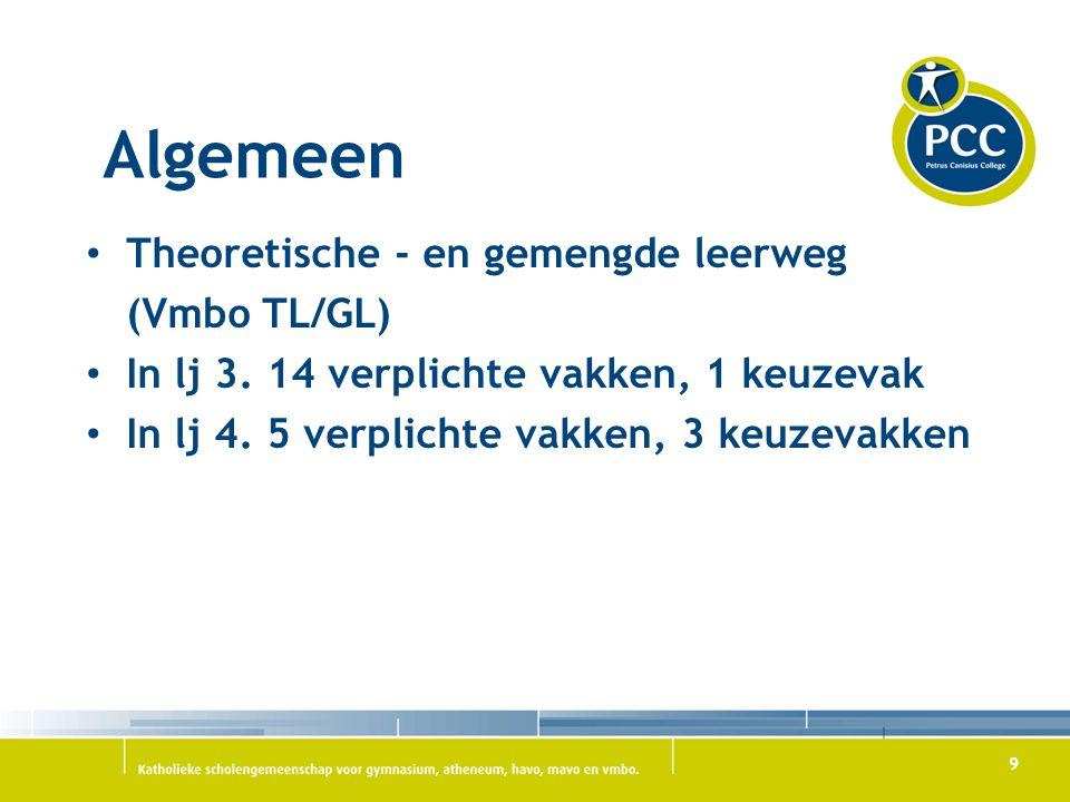 Algemeen Theoretische - en gemengde leerweg (Vmbo TL/GL)