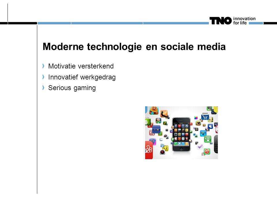 Moderne technologie en sociale media