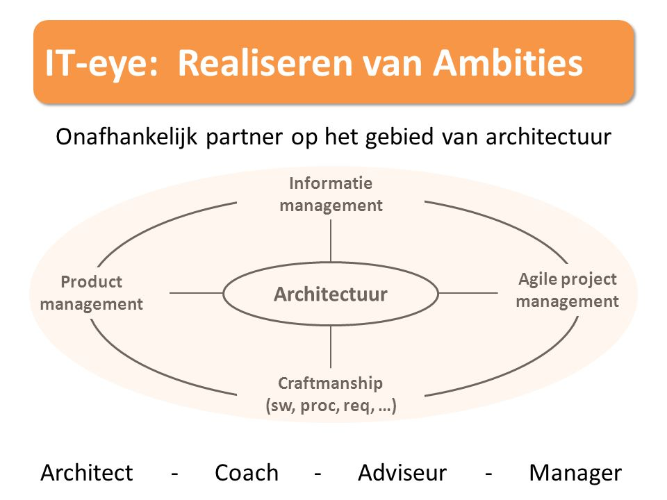 IT-eye: Realiseren van Ambities