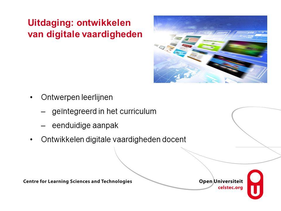Uitdaging: ontwikkelen van digitale vaardigheden