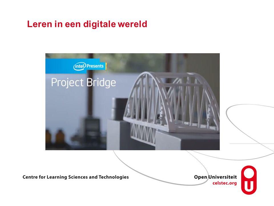 Leren in een digitale wereld