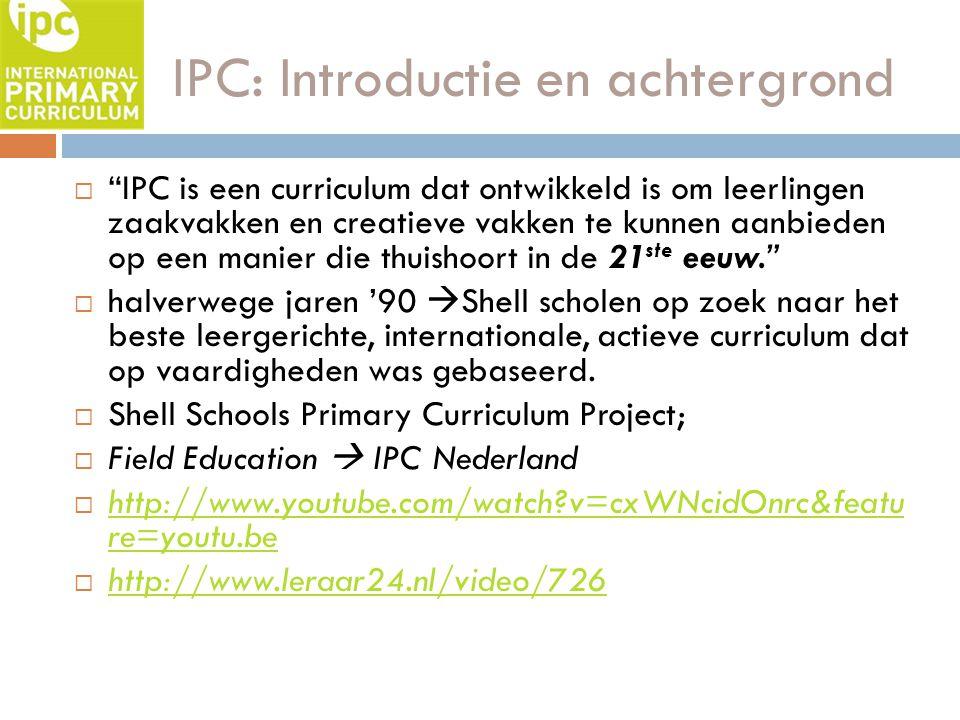 IPC: Introductie en achtergrond