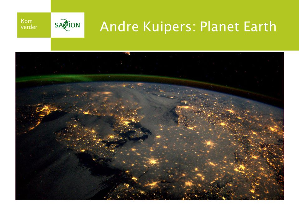 Andre Kuipers: Planet Earth