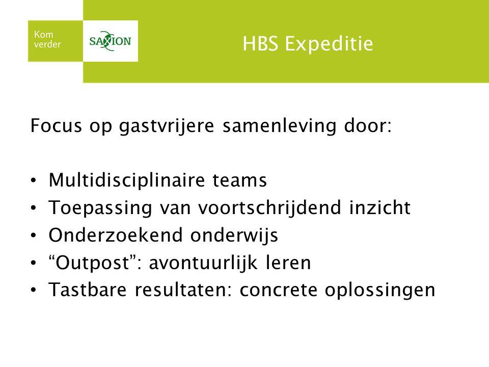 HBS Expeditie Focus op gastvrijere samenleving door: