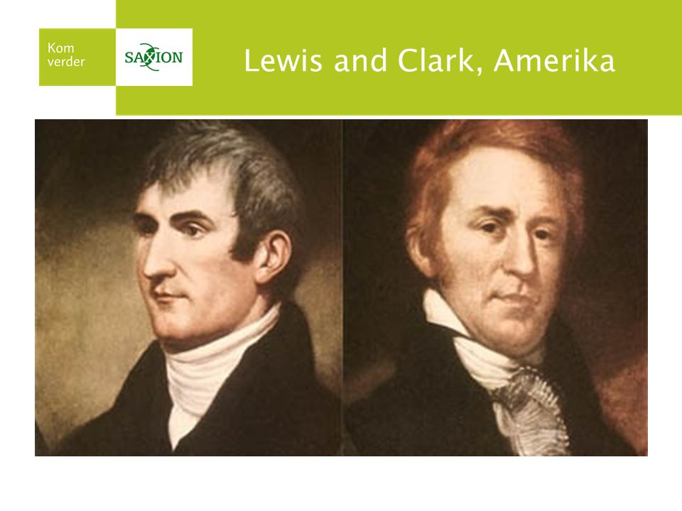 Lewis and Clark, Amerika