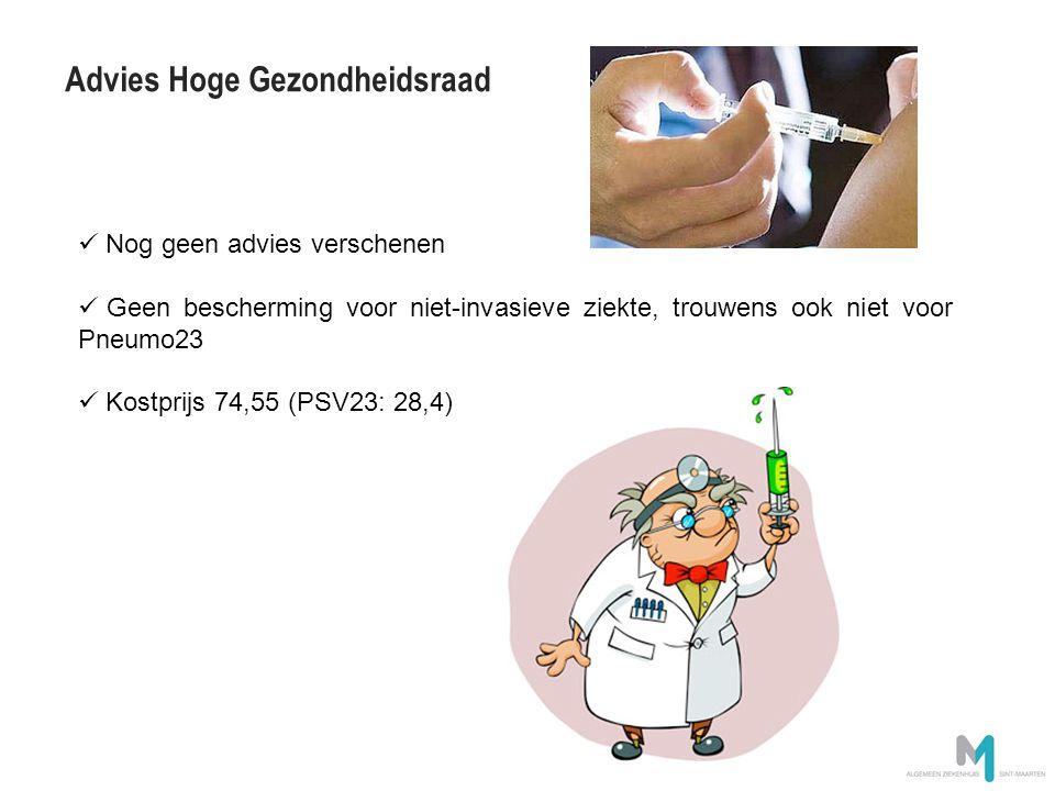 Advies Hoge Gezondheidsraad