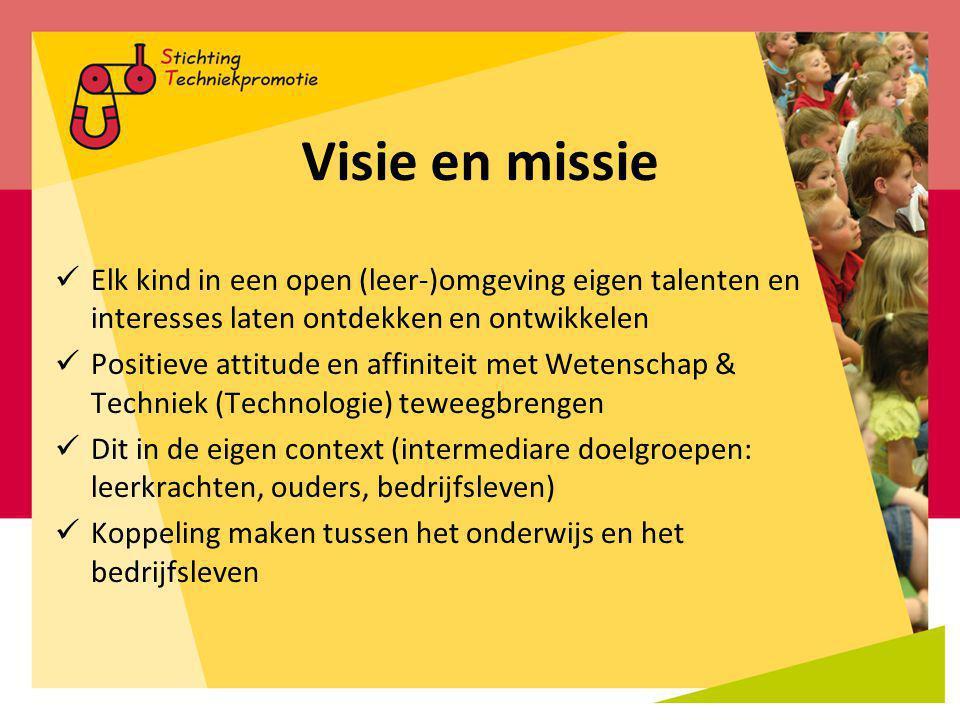 Visie en missie Elk kind in een open (leer-)omgeving eigen talenten en interesses laten ontdekken en ontwikkelen.