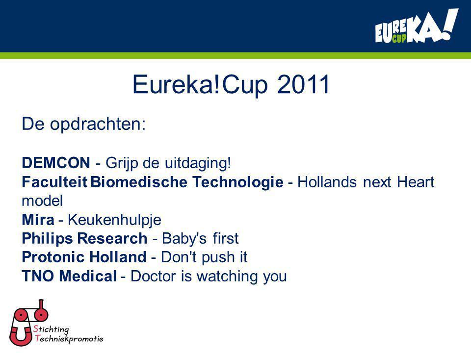 Eureka!Cup 2011 De opdrachten: DEMCON - Grijp de uitdaging!