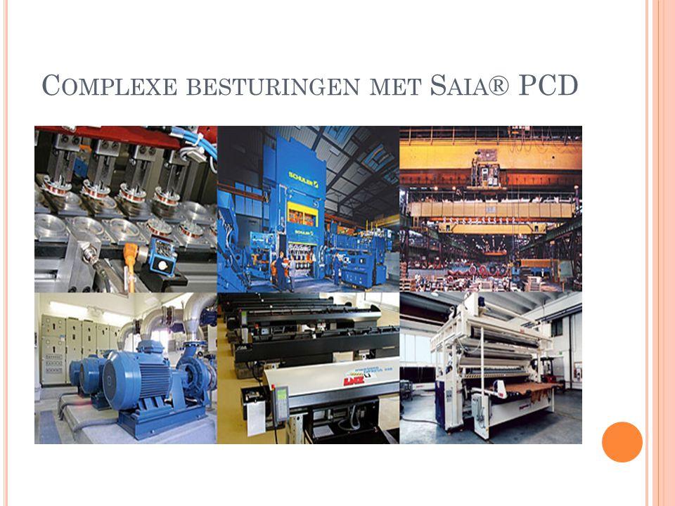 Complexe besturingen met Saia® PCD