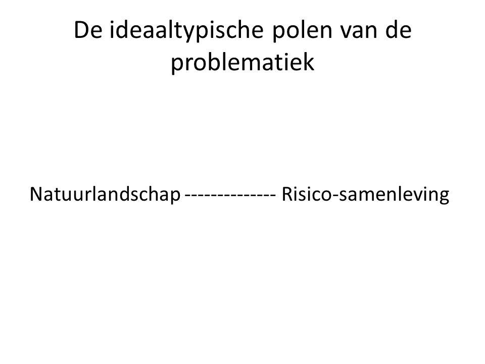 De ideaaltypische polen van de problematiek