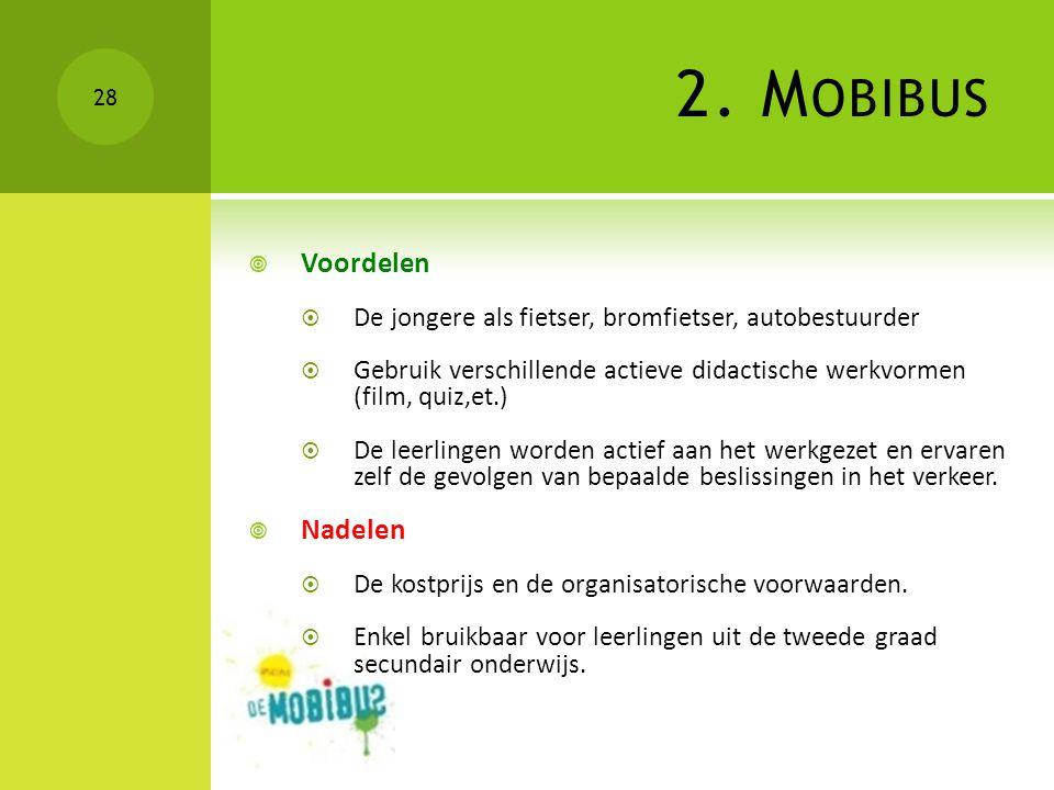 2. Mobibus Voordelen Nadelen