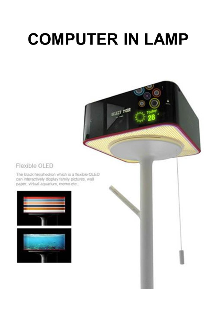 COMPUTER IN LAMP