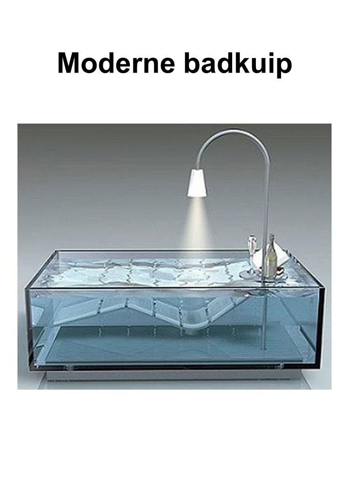 Moderne badkuip
