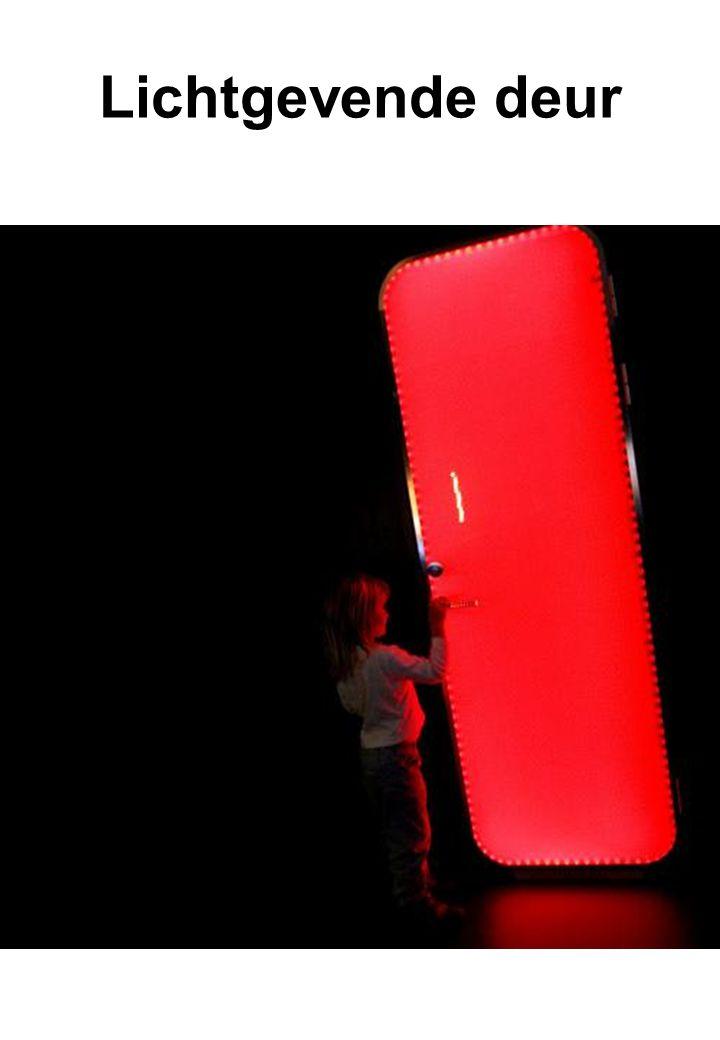 Lichtgevende deur