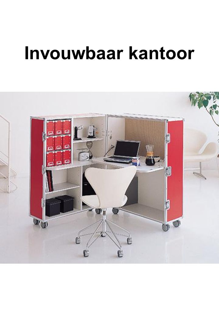 Invouwbaar kantoor