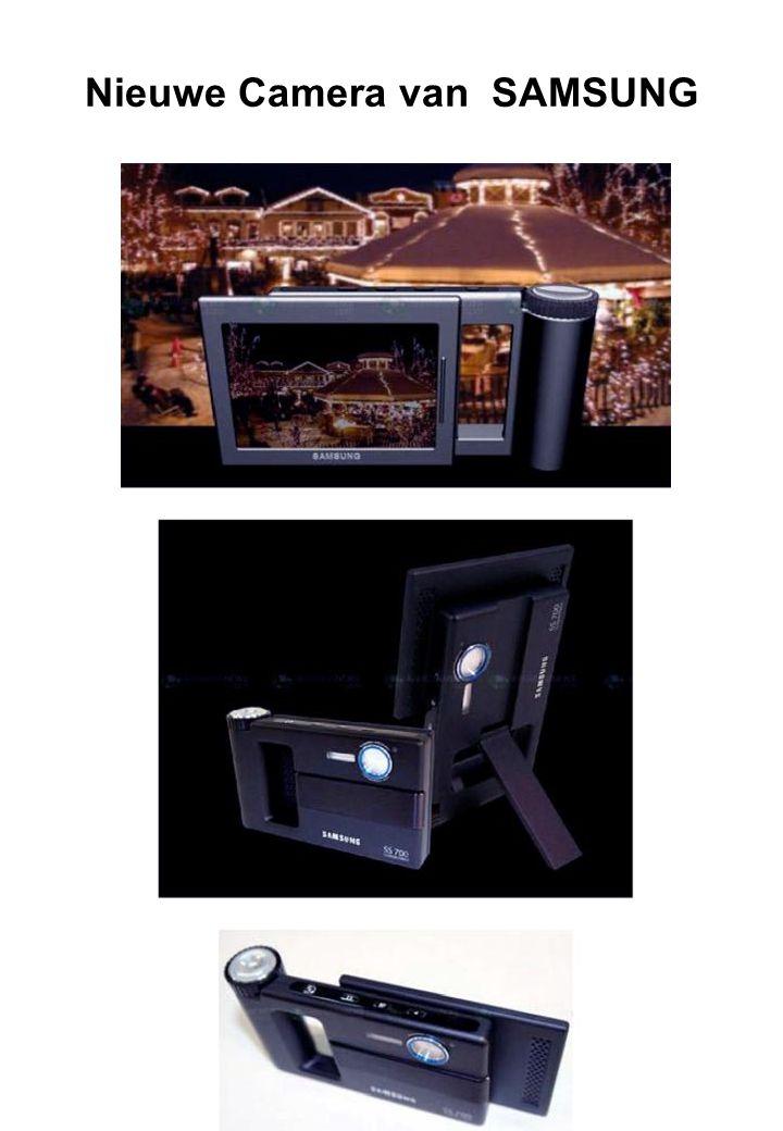 Nieuwe Camera van SAMSUNG