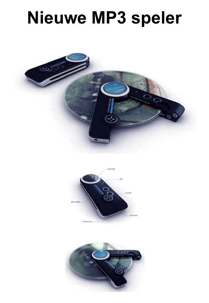 Nieuwe MP3 speler