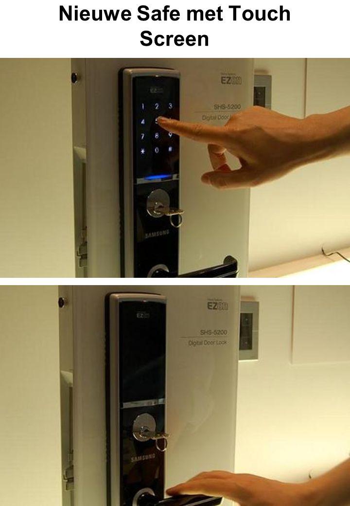 Nieuwe Safe met Touch Screen
