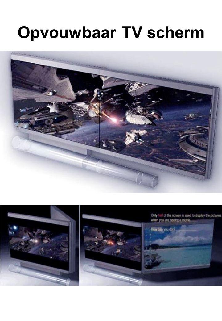 Opvouwbaar TV scherm