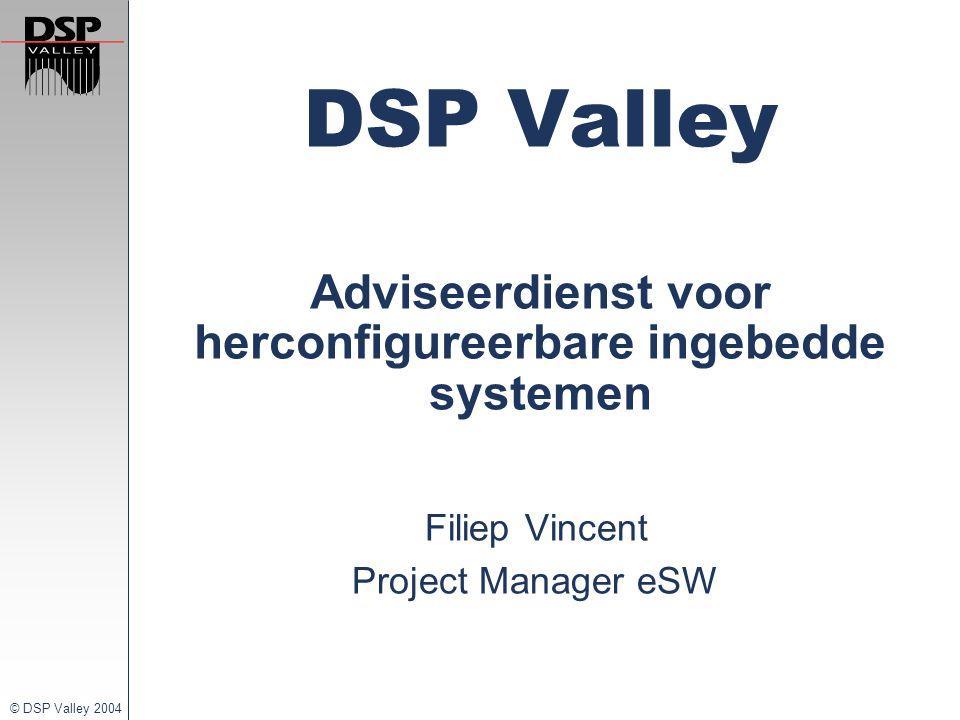 DSP Valley Adviseerdienst voor herconfigureerbare ingebedde systemen