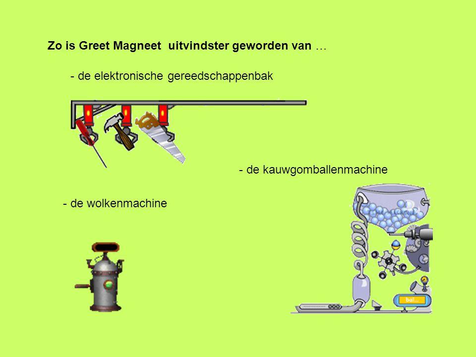 Zo is Greet Magneet uitvindster geworden van …