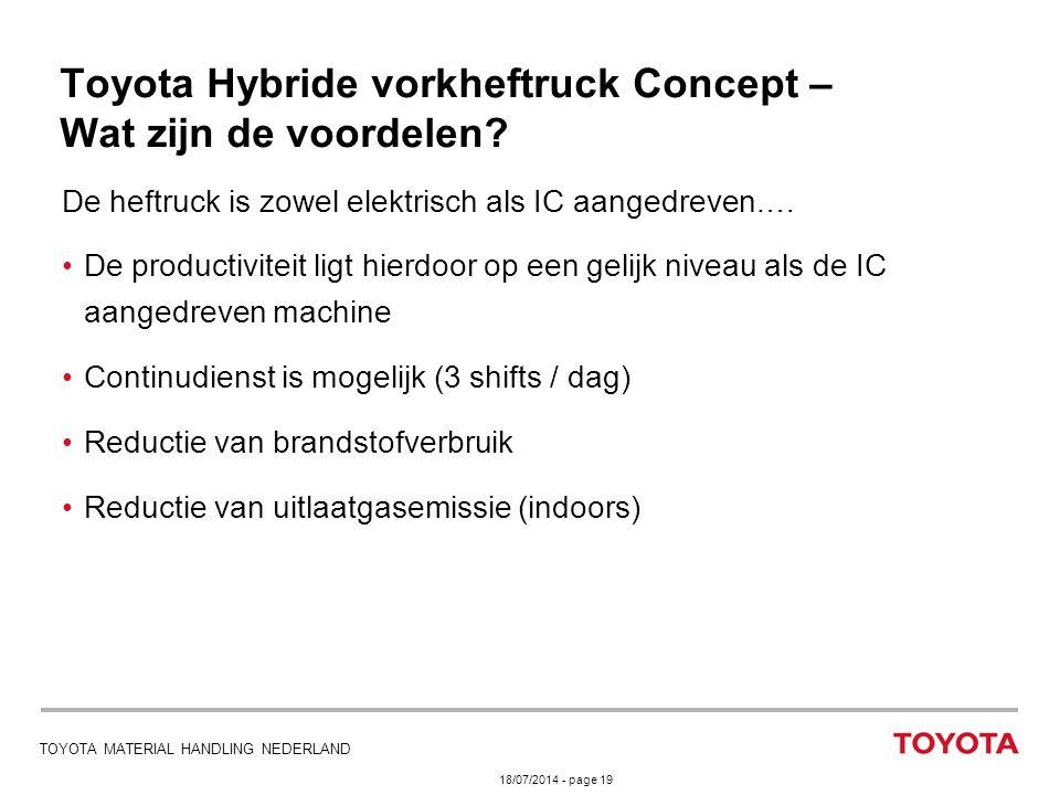 Toyota Hybride vorkheftruck Concept – Wat zijn de voordelen