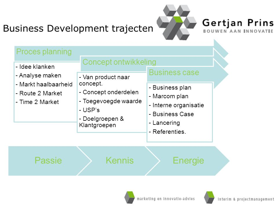 Business Development trajecten
