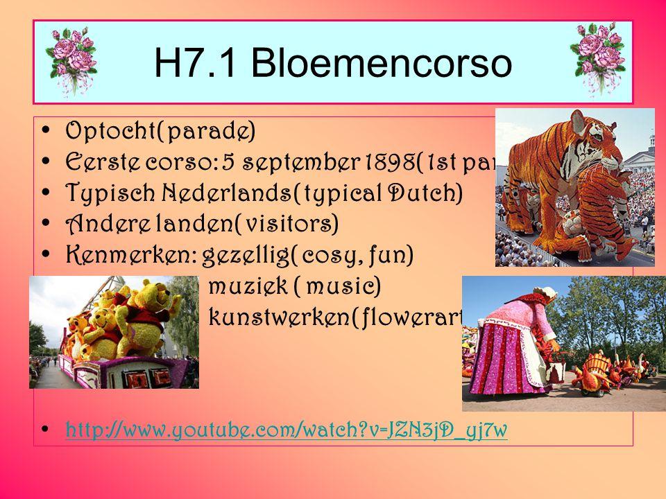 H7.1 Bloemencorso Optocht( parade)