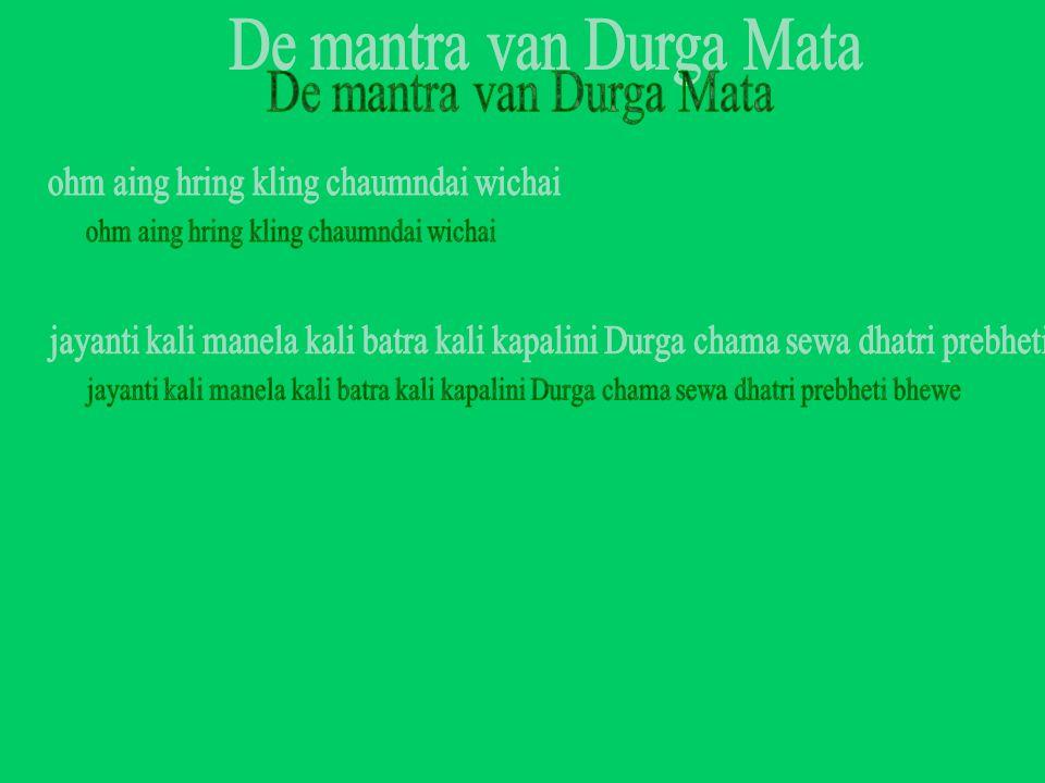 De mantra van Durga Mata