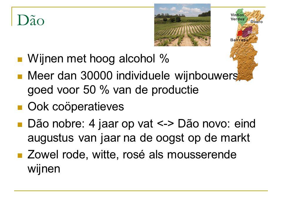 Dão Wijnen met hoog alcohol %