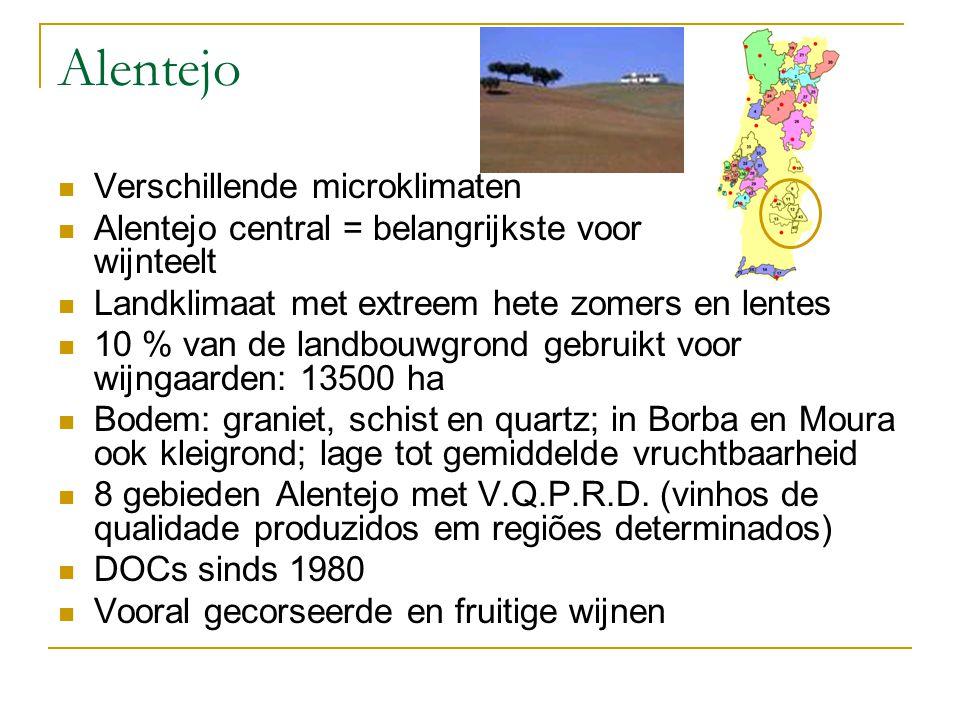 Alentejo Verschillende microklimaten