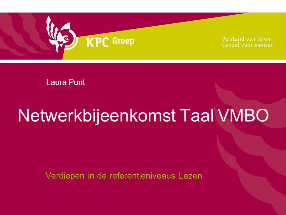 Netwerkbijeenkomst Taal VMBO