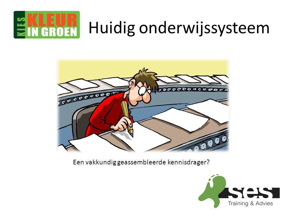 Huidig onderwijssysteem