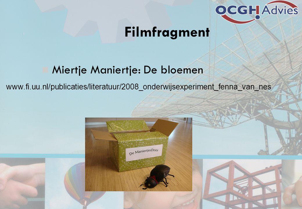 Filmfragment Miertje Maniertje: De bloemen