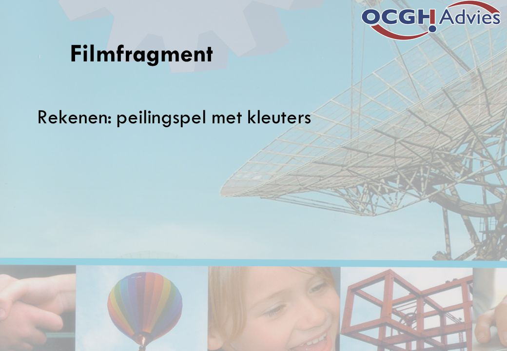 Filmfragment Rekenen: peilingspel met kleuters