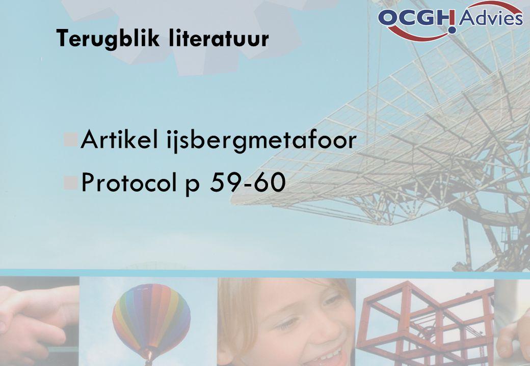Artikel ijsbergmetafoor Protocol p 59-60